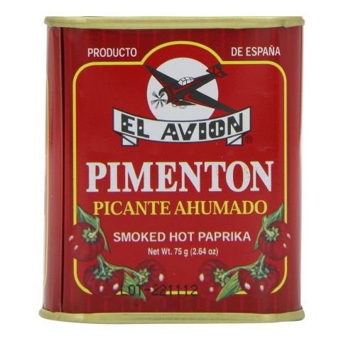 Hot Smoked Paprika Pimenton Picante Ahumado Spice El Avion 75g (Spanish Cooking)